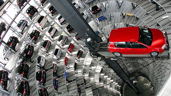 Hệ thống đỗ xe nâng hạ thông minh