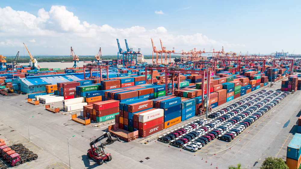 ViCPS - Giải pháp định vị vị trí container