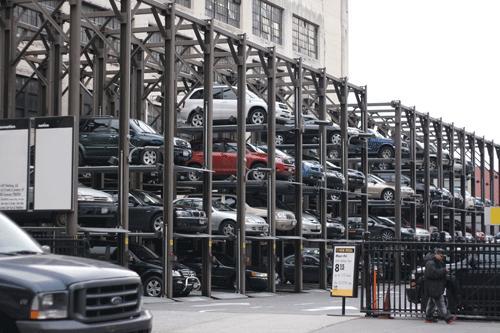 Một số mô hình bãi đỗ xe nâng hạ thông minh