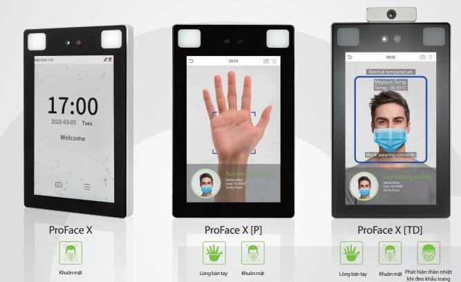 ProFace X - giải pháp nhận diện và phát hiện thân nhiệt