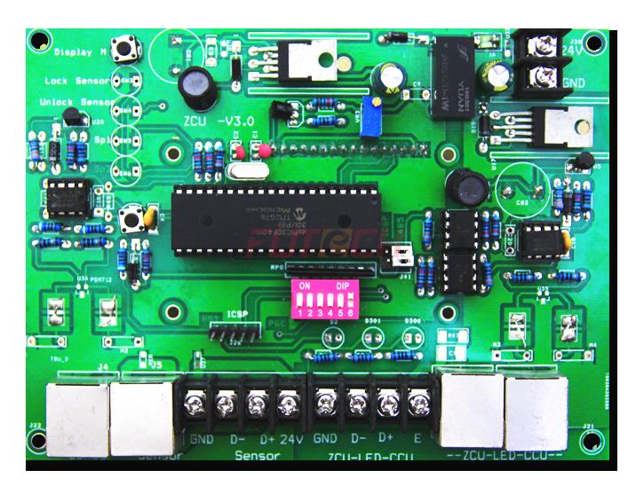 Mạch điều khiển cho một làn xe KZ-E01.NET