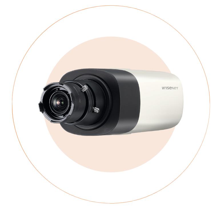 Camera IP BOX hồng ngoại 2MP WISENET SNB-6005/KAP